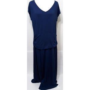 Torrid Navy Jersey Maxi Dress Size 2